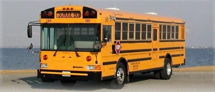 44 passenger school bus