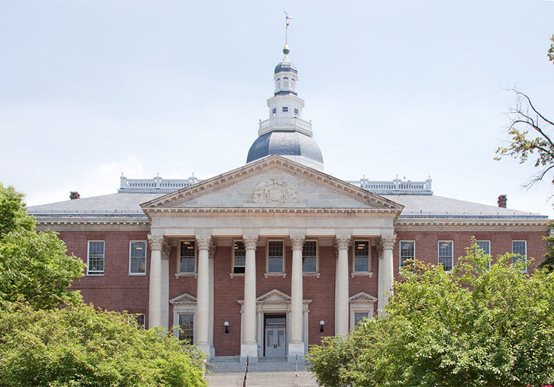 Maryland State House: day trips in Maryland