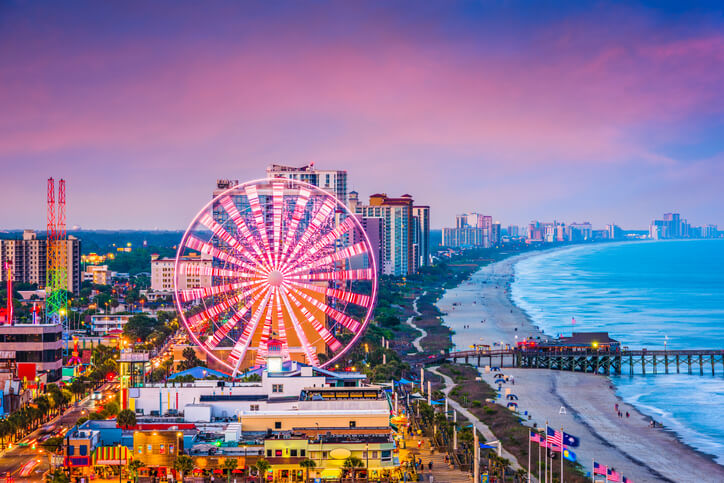 Myrtle Beach, South Carolina, USA Skyline